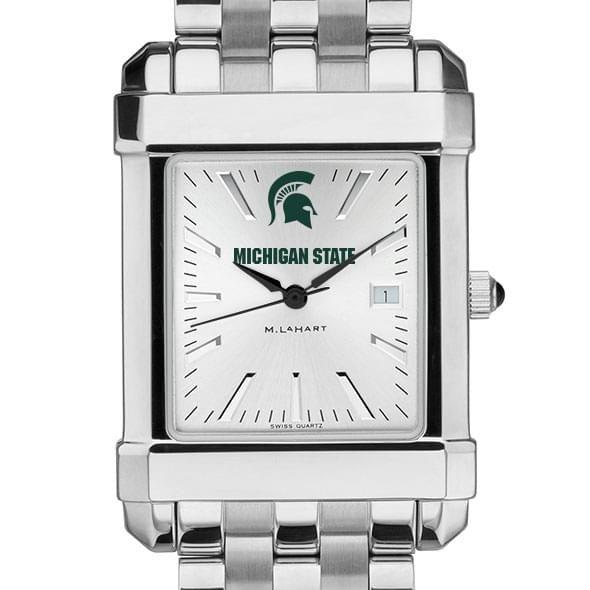 Michigan State Men's Collegiate Watch w/ Bracelet