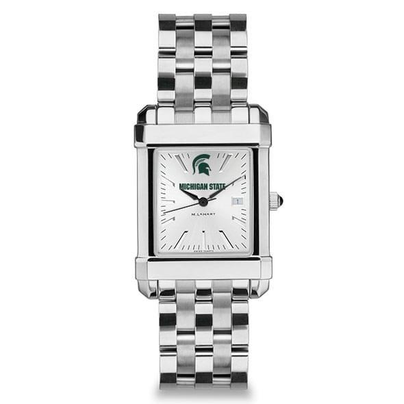 Michigan State Men's Collegiate Watch w/ Bracelet - Image 2