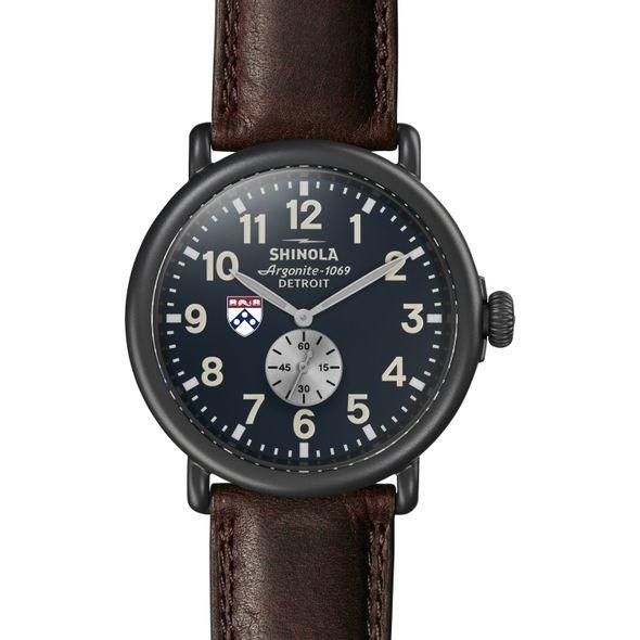 Penn Shinola Watch, The Runwell 47mm Midnight Blue Dial - Image 2