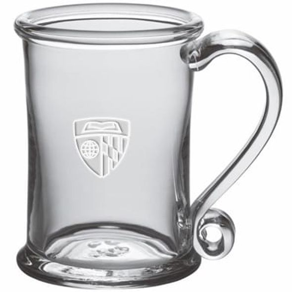 Johns Hopkins Glass Tankard by Simon Pearce