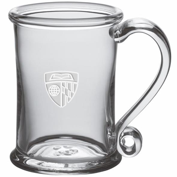 Johns Hopkins Glass Tankard by Simon Pearce - Image 2