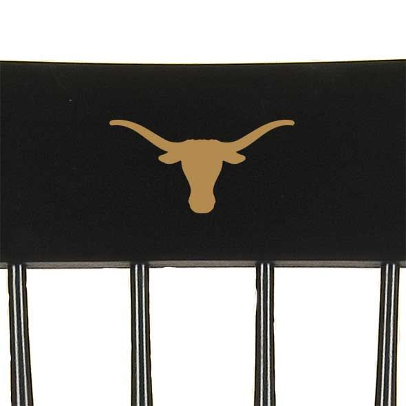 University of Texas Captain's Chair by Hitchcock - Image 2