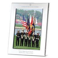 Naval Academy Polished Pewter 5x7 Picture Frame