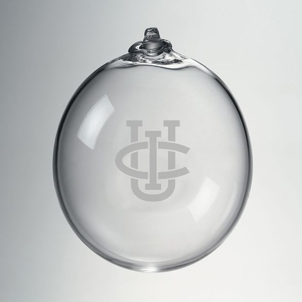 UC Irvine Glass Ornament by Simon Pearce