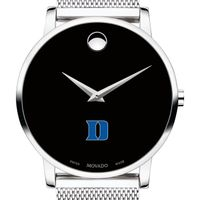Duke University Men's Movado Museum with Mesh Bracelet