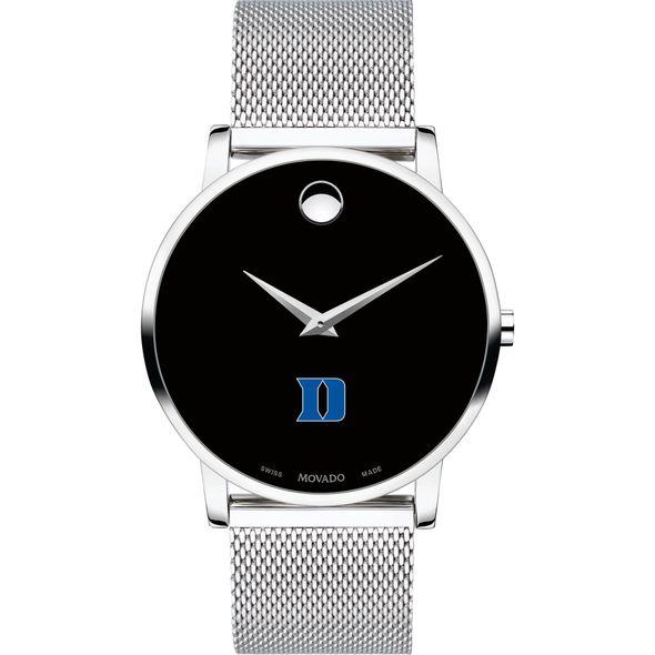 Duke University Men's Movado Museum with Mesh Bracelet - Image 2