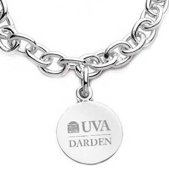 UVA Darden Sterling Silver Charm Bracelet - Image 2
