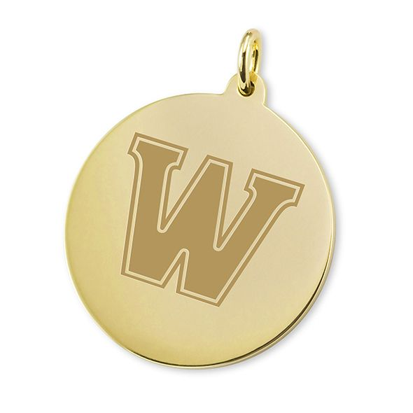 Williams College 18K Gold Charm - Image 1