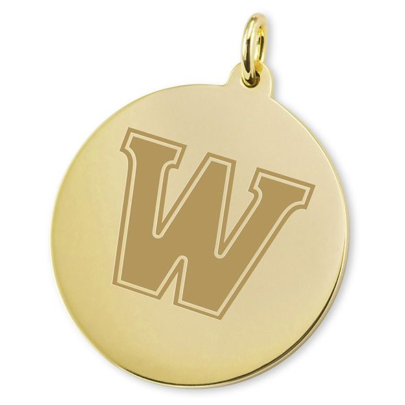 Williams College 18K Gold Charm - Image 2