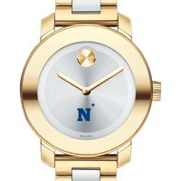 US Naval Academy Women's Movado Two-Tone Bold