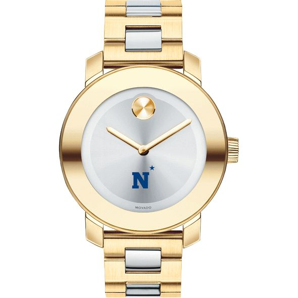 US Naval Academy Women's Movado Two-Tone Bold - Image 2