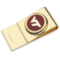Virginia Tech Enamel Money Clip