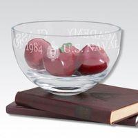 """USNA 10"""" Glass Celebration Bowl"""