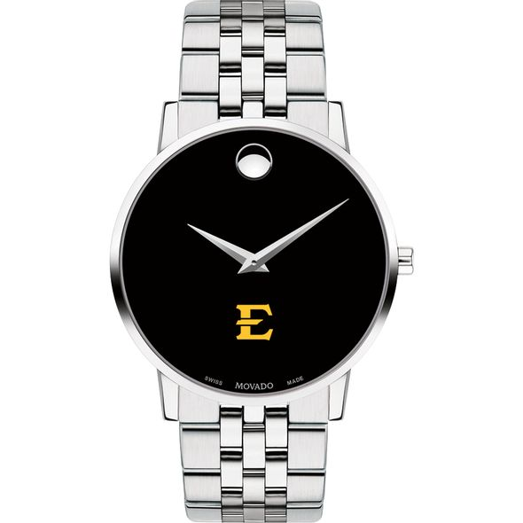 East Tennessee State University Men's Movado Museum with Bracelet - Image 2