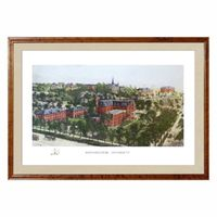 Historic Northwestern University Watercolor Print