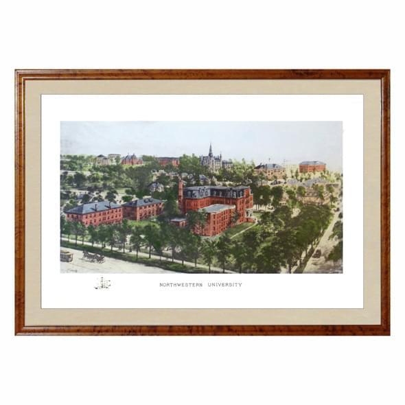 Historic Northwestern University Watercolor Print