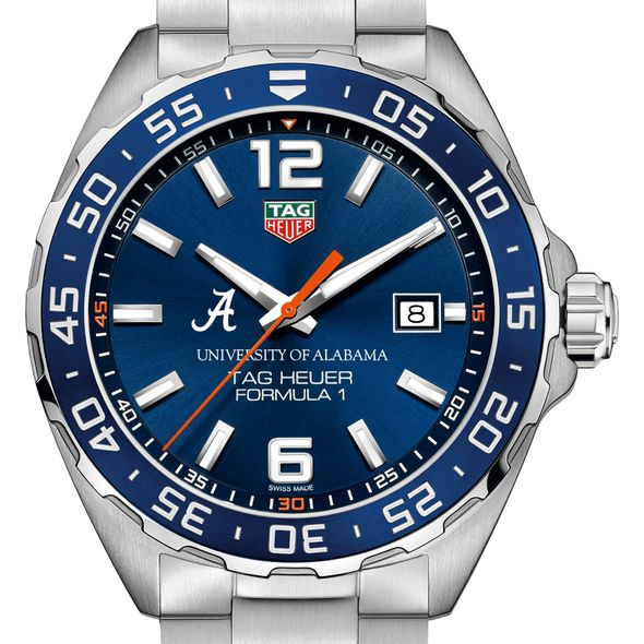 University of Alabama Men's TAG Heuer Formula 1 with Blue Dial & Bezel