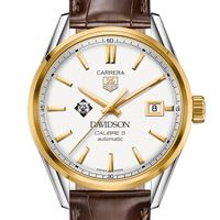 Davidson College Men's TAG Heuer Two-Tone Carrera with Strap