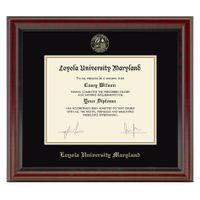 Loyola Diploma Frame, the Fidelitas