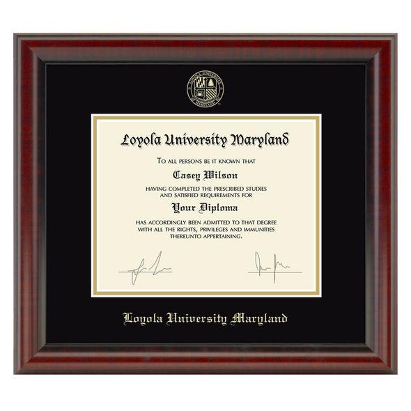 Loyola Diploma Frame, the Fidelitas - Image 1