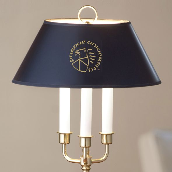 Purdue University Lamp in Brass & Marble - Image 2