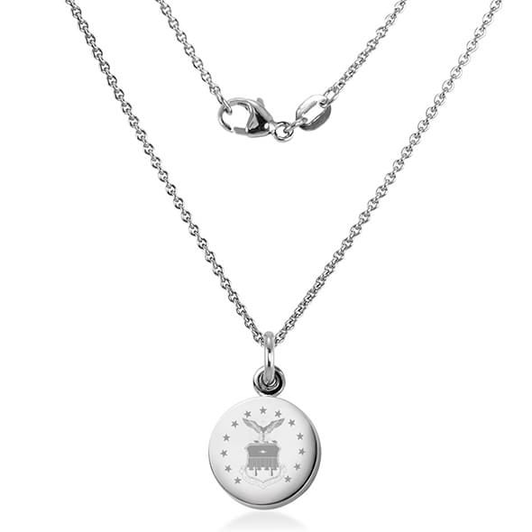 US Air Force Academy Necklace with Charm in Sterling Silver - Image 2