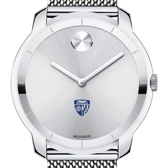 Johns Hopkins University Men's Movado Stainless Bold 44