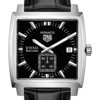 Texas McCombs TAG Heuer Monaco with Quartz Movement for Men