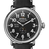 UNC Kenan-Flagler Shinola Watch, The Runwell 47mm Black Dial