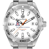 University of Arizona Men's TAG Heuer Steel Aquaracer