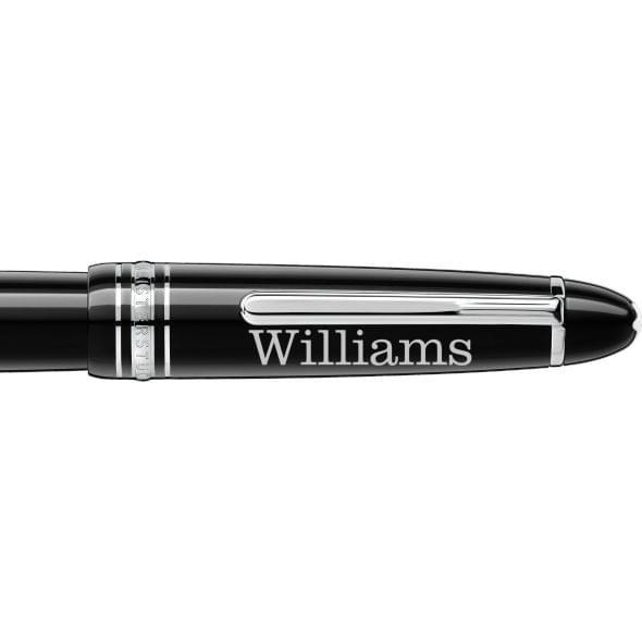 Williams College Montblanc Meisterstück LeGrand Fountain Pen in Platinum - Image 2