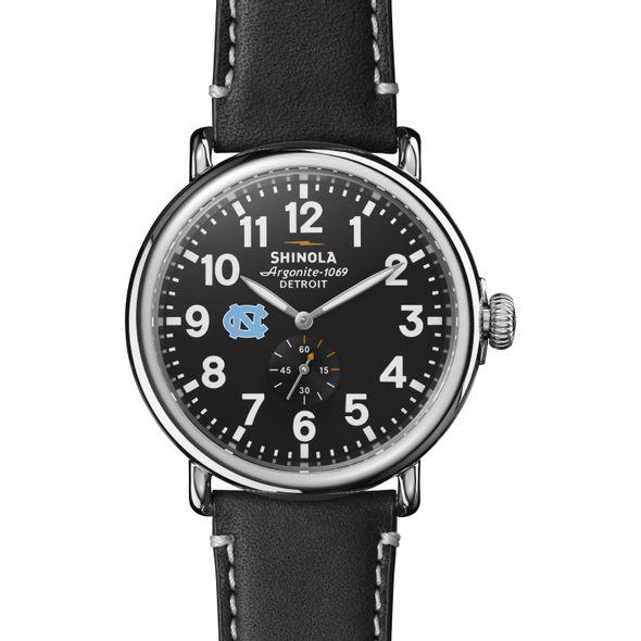 UNC Shinola Watch, The Runwell 47mm Black Dial - Image 2