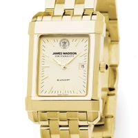 James Madison Men's Gold Quad with Bracelet