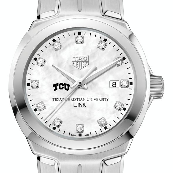 Texas Christian University TAG Heuer Diamond Dial LINK for Women