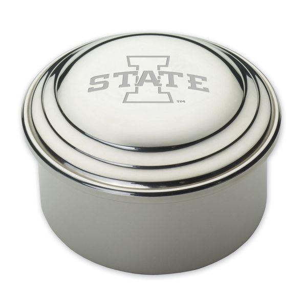 Iowa State University Pewter Keepsake Box