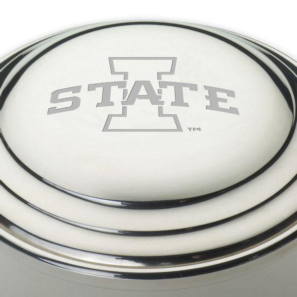 Iowa State University Pewter Keepsake Box - Image 2