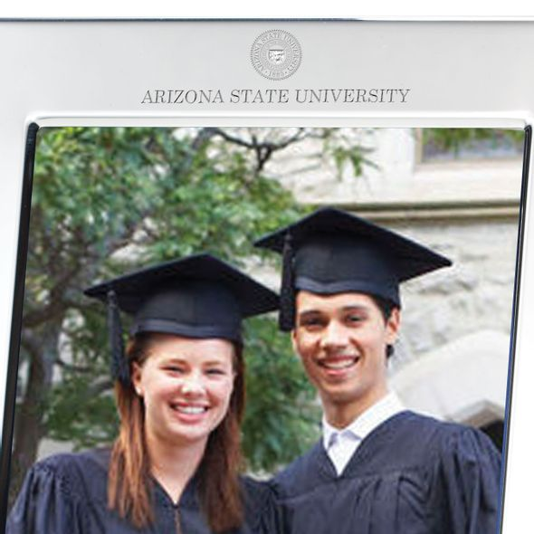 Arizona State Polished Pewter 5x7 Picture Frame - Image 2