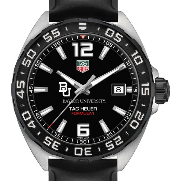 Baylor University Men's TAG Heuer Formula 1 with Black Dial