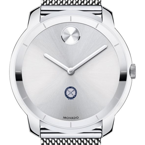 US Naval Institute Men's Movado Stainless Bold 44
