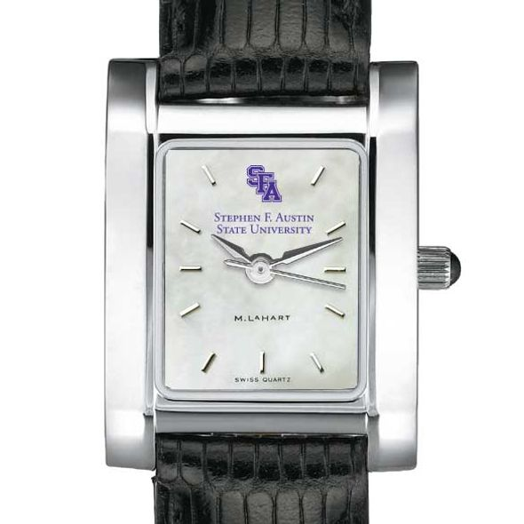 SFASU Women's MOP Quad with Leather Strap