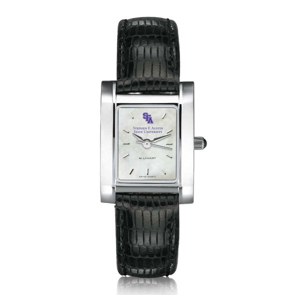 SFASU Women's MOP Quad with Leather Strap - Image 2