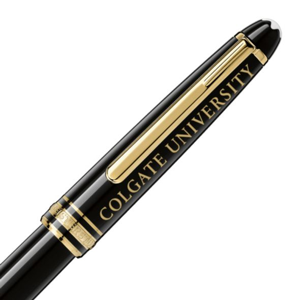 Colgate Montblanc Meisterstück Classique Rollerball Pen in Gold - Image 2