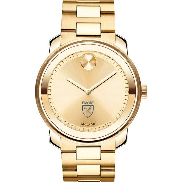 Emory University Men's Movado Gold Bold - Image 2