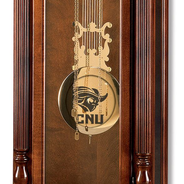 Christopher Newport University Howard Miller Grandfather Clock - Image 2