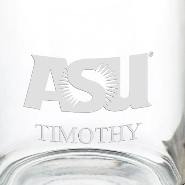 Arizona State 13 oz Glass Coffee Mug - Image 3