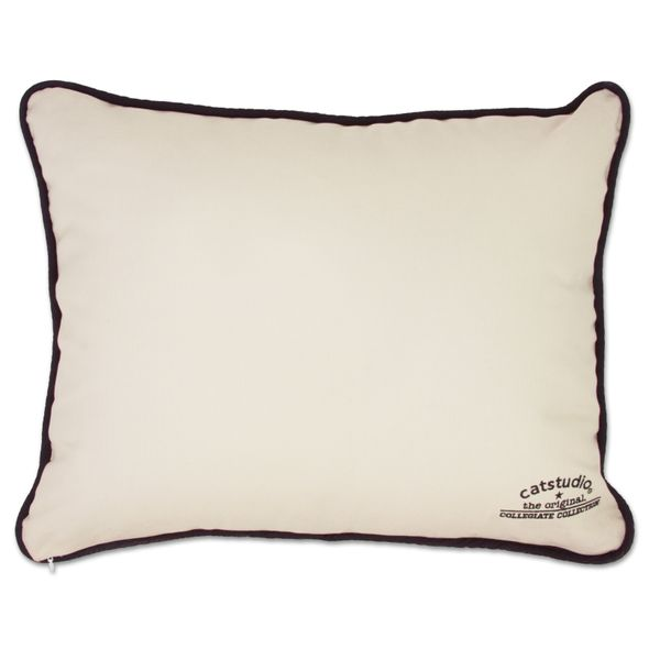 Yale Embroidered Pillow - Image 2