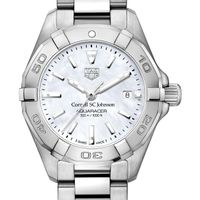 SC Johnson College Women's TAG Heuer Steel Aquaracer w MOP Dial