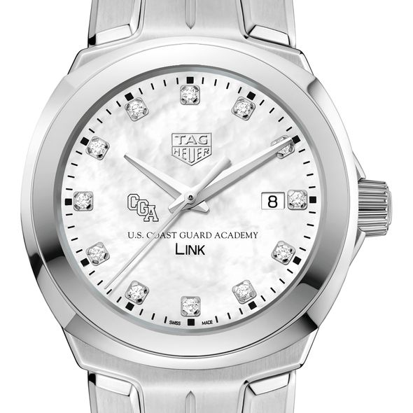 US Coast Guard Academy TAG Heuer Diamond Dial LINK for Women
