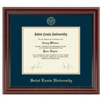 Saint Louis University Diploma Frame, the Fidelitas