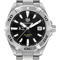 Kappa Sigma Men's TAG Heuer Steel Aquaracer with Black Dial